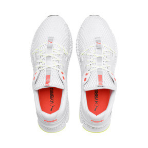 Thumbnail 7 of HYBRID Sky Men's Running Shoes, White-Black-Nrgy Red, medium