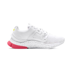 Thumbnail 6 of HYBRID Sky Women's Running Shoes, Wh-Pink Alert-Yellow Alert, medium