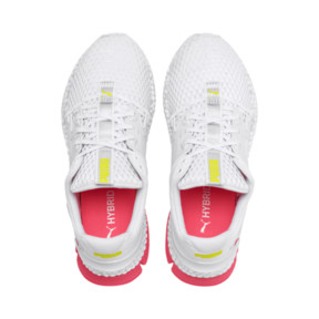Thumbnail 7 of HYBRID Sky Women's Running Shoes, Wh-Pink Alert-Yellow Alert, medium