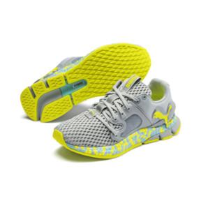 Thumbnail 2 of HYBRID Sky Women's Running Shoes, Quarry-Yellow Alert, medium