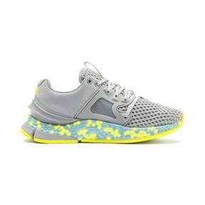 Thumbnail 6 of HYBRID Sky Women's Running Shoes, Quarry-Yellow Alert, medium