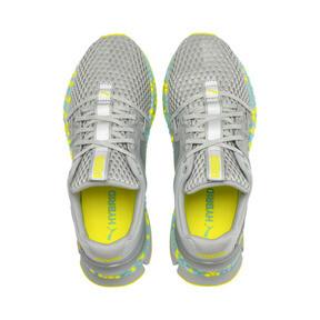 Thumbnail 7 of HYBRID Sky Women's Running Shoes, Quarry-Yellow Alert, medium