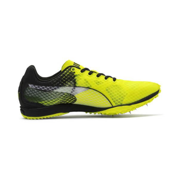 evoSPEED Haraka 6 Distance Track Spikes, Yellow Alert-Black-White, large