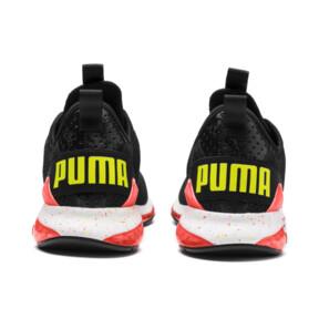 Miniatura 4 de Zapatos de entrenamiento CELL Descend Weave para hombre, Black-Nrgy Red-Yellow Alert, mediano