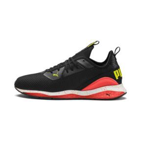 Miniatura 1 de Zapatos de entrenamiento CELL Descend Weave para hombre, Black-Nrgy Red-Yellow Alert, mediano