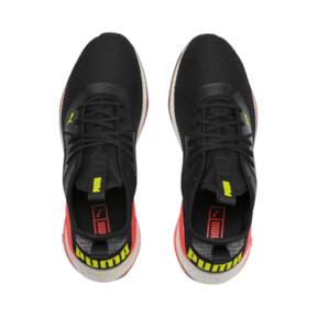 Miniatura 7 de Zapatos de entrenamiento CELL Descend Weave para hombre, Black-Nrgy Red-Yellow Alert, mediano