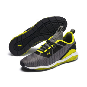 Thumbnail 2 of CELL Descend Weave Men's Training Shoes, CASTLEROCK-Black-Yellow, medium