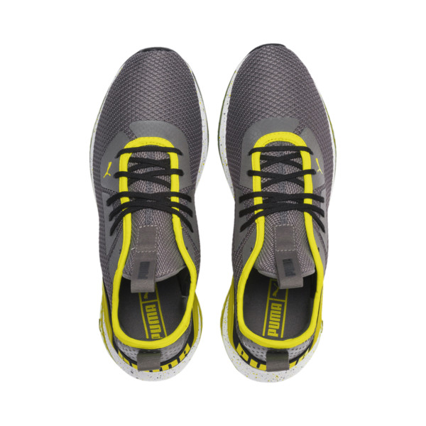 CELL Descend Weave Men's Training Shoes, CASTLEROCK-Black-Yellow, large