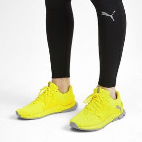 Thumbnail 3 of HYBRID Sky Lights Men's Running Shoes, Yellow Alert-Puma Silver, medium