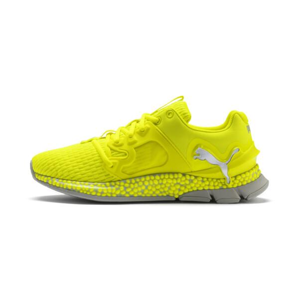 HYBRID Sky Lights Men's Running Shoes, Yellow Alert-Puma Silver, large
