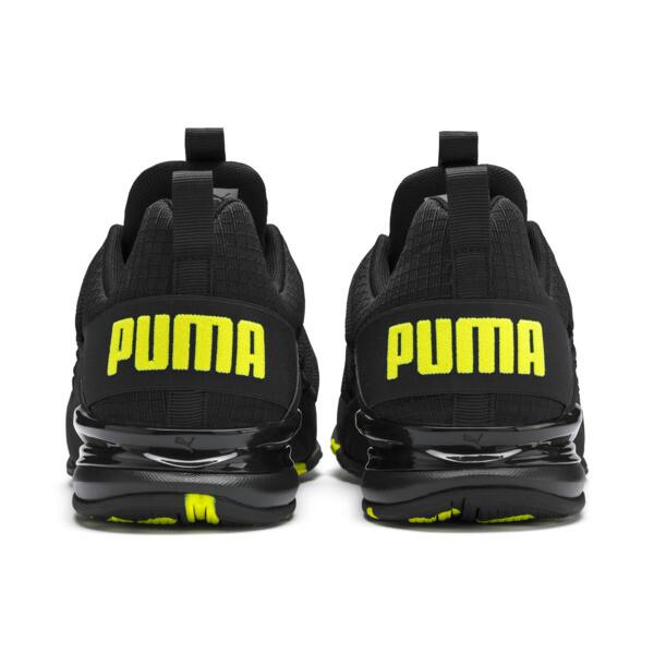 Axelion Rip Men's Training Shoes, Puma Black-Yellow Alert, large