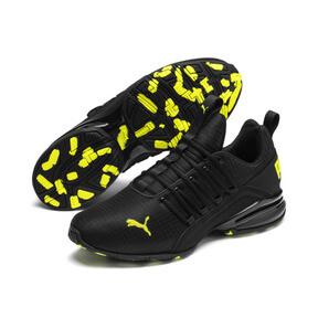 Thumbnail 2 of Axelion Rip Men's Training Shoes, Puma Black-Yellow Alert, medium