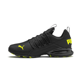 Thumbnail 1 of Axelion Rip Men's Training Shoes, Puma Black-Yellow Alert, medium