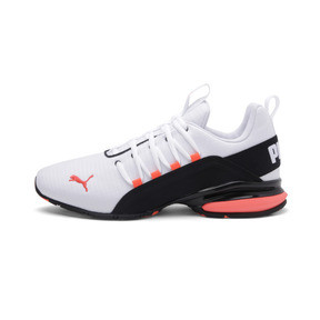 Thumbnail 1 of Axelion Rip Men's Training Shoes, White-Black-Nrgy Red, medium