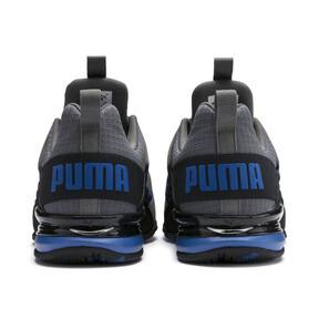Miniatura 4 de Zapatos de entrenamiento Axelion Rip para hombre, CASTLEROCK-Black-Galaxy Blue, mediano