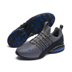 Miniatura 2 de Zapatos de entrenamiento Axelion Rip para hombre, CASTLEROCK-Black-Galaxy Blue, mediano