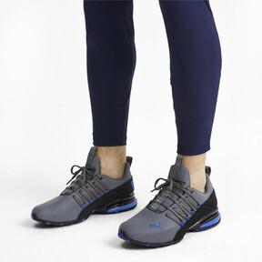 Miniatura 3 de Zapatos de entrenamiento Axelion Rip para hombre, CASTLEROCK-Black-Galaxy Blue, mediano