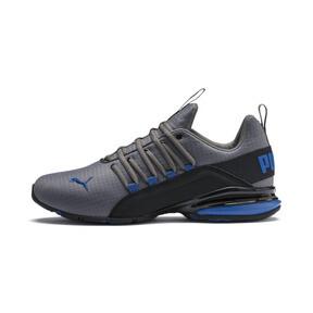 Miniatura 1 de Zapatos de entrenamiento Axelion Rip para hombre, CASTLEROCK-Black-Galaxy Blue, mediano