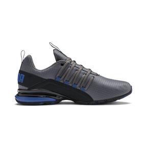 Miniatura 6 de Zapatos de entrenamiento Axelion Rip para hombre, CASTLEROCK-Black-Galaxy Blue, mediano