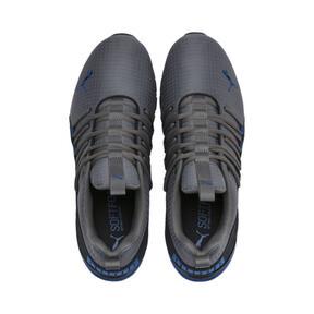 Miniatura 7 de Zapatos de entrenamiento Axelion Rip para hombre, CASTLEROCK-Black-Galaxy Blue, mediano