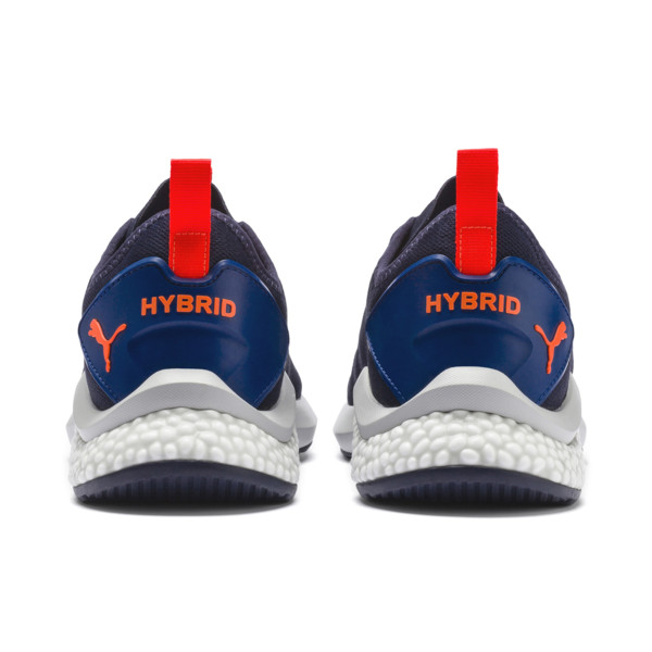 HYBRID NX Camo Men's Running Shoes, GalaxyBlue-Peacoat-HighRise, large