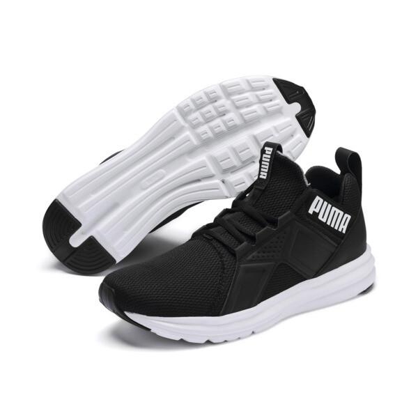 Basket Enzo Sport pour homme, Puma Black-Puma White, large