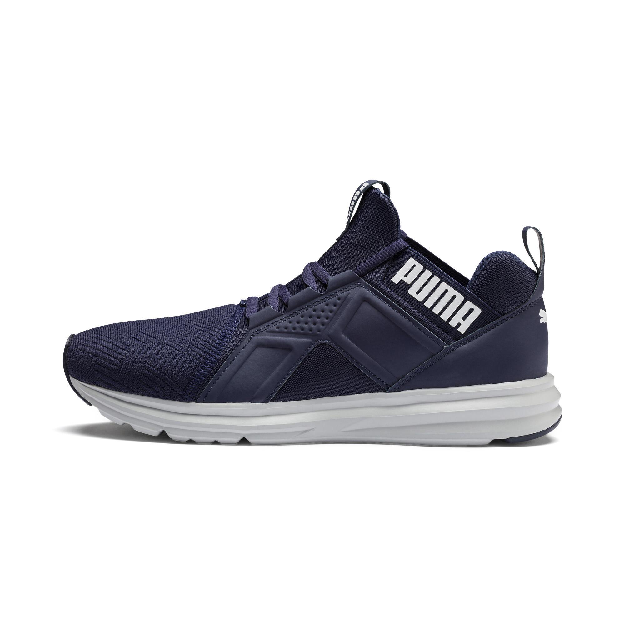 PUMA-Enzo-Geo-Men-s-Sneakers-Men-Shoe-Running thumbnail 4