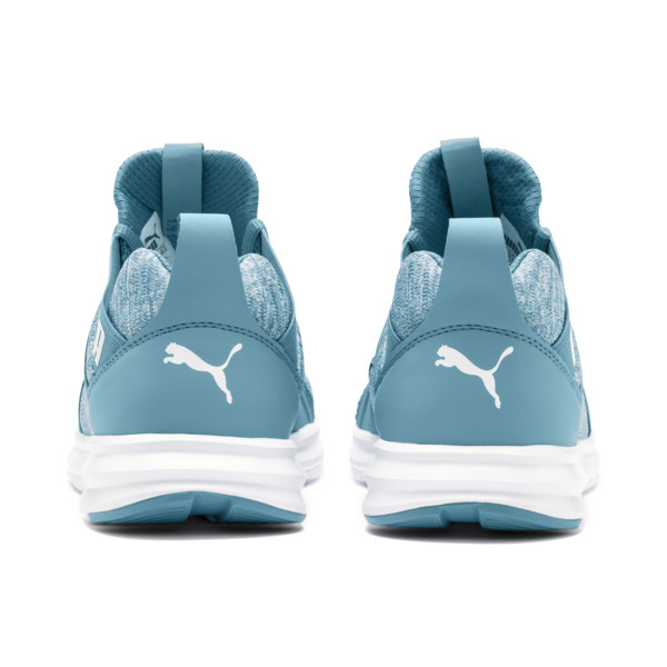 Enzo Heather Women's Sneakers, Bluestone-Milky Blue-White, large