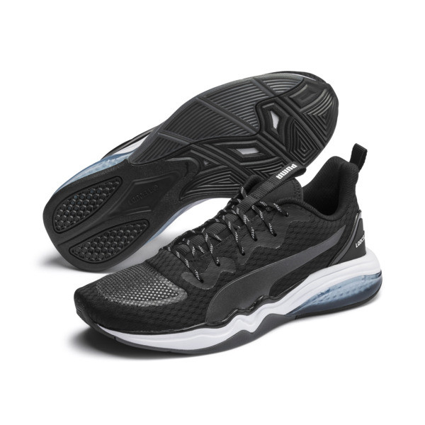 LQDCELL Tension Men's Training Shoes, Puma Black-Puma White, large