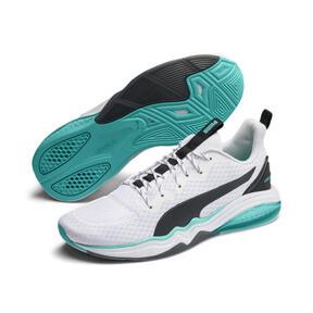 Thumbnail 3 of LQDCELL Tension Men's Training Shoes, Puma White-Blue Turquoise, medium