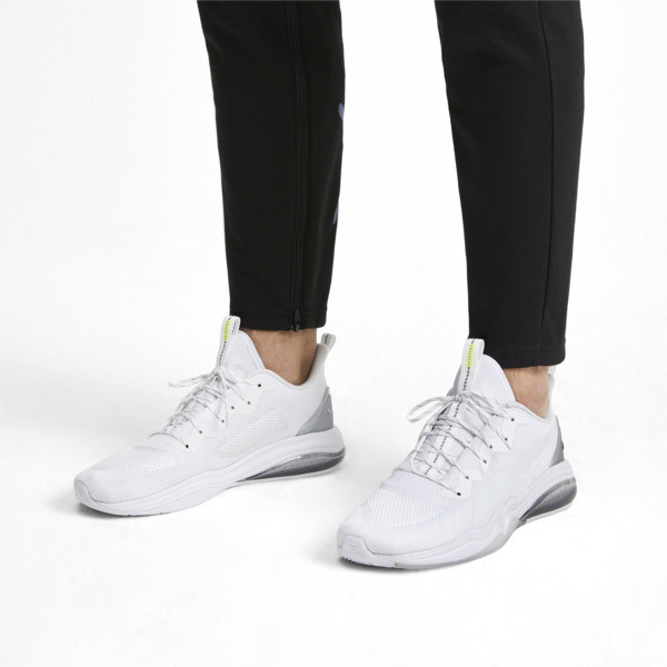LQDCELL Tension Lights Men's Training Shoes, Puma White-Puma Silver, large