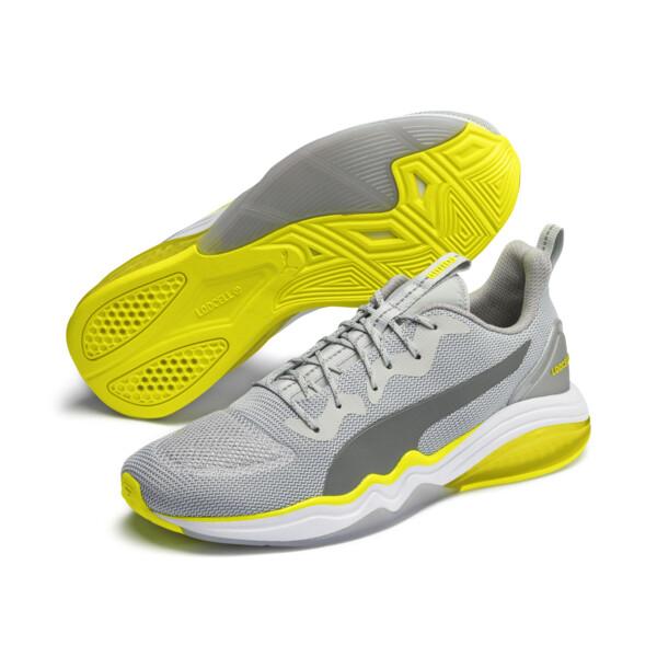 Chaussure pour l'entraînement LQDCELL Tension Lights pour homme, High Rise-Yellow Alert, large