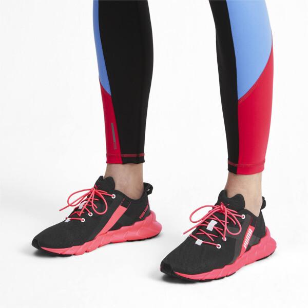 Weave XT Women's Training Shoes, Puma Black-Pink Alert, large