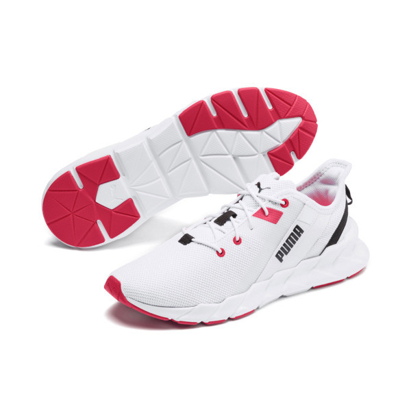 Weave XT Damen Trainingsschuhe, Puma White-Pink Alert, large