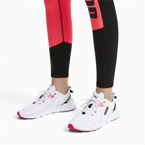 Thumbnail 2 of Weave XT Damen Trainingsschuhe, Puma White-Pink Alert, medium