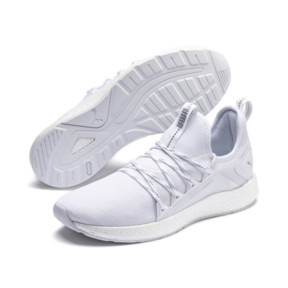 Thumbnail 3 of NRGY Neko Lights Men's Running Shoes, Puma White, medium