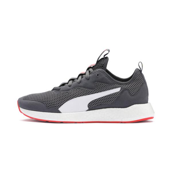 Zapatos para correr NRGY Neko Skim para hombre, CASTLEROCK-Puma White, grande