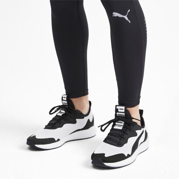 Zapatos para correr NRGY Neko Skim para hombre, Puma White-Puma Black, grande