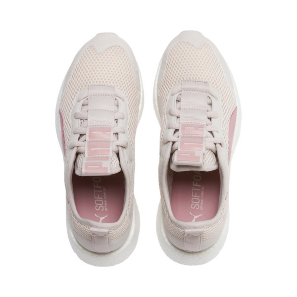 NRGY Neko Skim Women's Running Shoes, Pastel Parchment-Bridal Rose, large