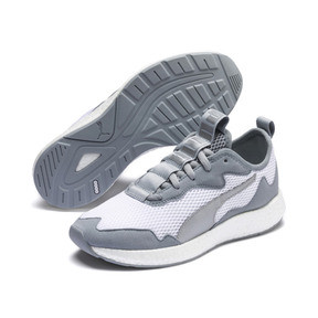 Thumbnail 2 of NRGY Neko Skim Women's Running Shoes, Puma White-Quarry, medium