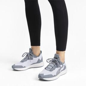 Thumbnail 3 of NRGY Neko Skim Women's Running Shoes, Puma White-Quarry, medium