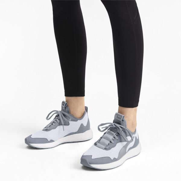 Zapatos para correr NRGY Neko Skim para mujer, Puma White-Quarry, grande