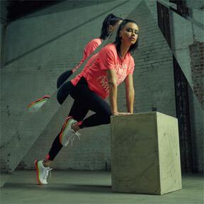 Imagen en miniatura 8 de Zapatillas de training de mujer LQDCell Shatter XT, Puma White-Pink Alert, mediana