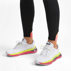 Thumbnail 2 of LQDCELL Shatter XT Women's Training Shoes, Puma White-Pink Alert, medium