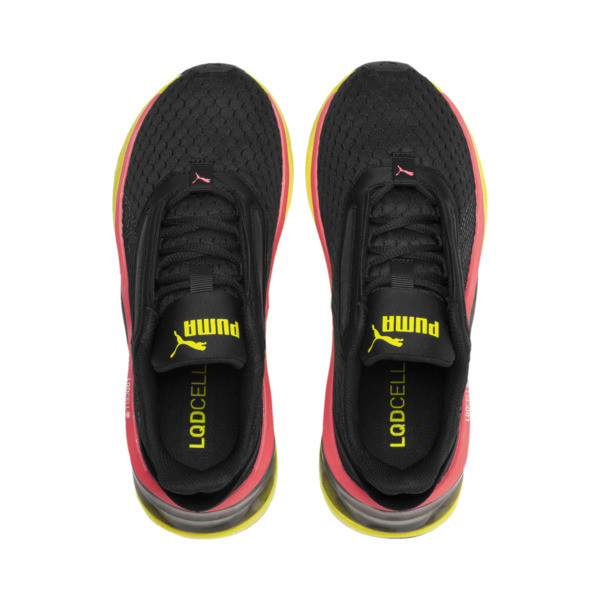 LQDCell Shatter XT Women's Training Shoes, Puma Black-Yellow Alert, large