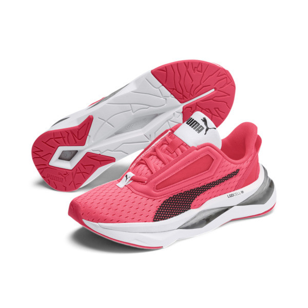 LQDCELL Shatter XT Women's Training Shoes, Pink Alert-Puma White, large