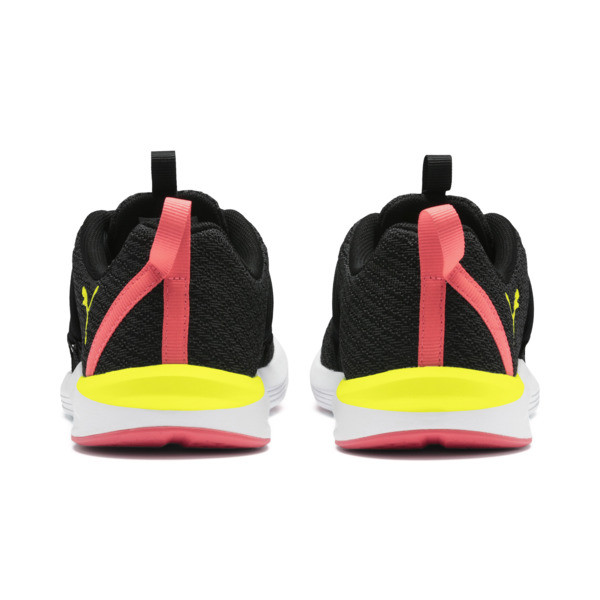 Prowl Alt Neon Women's Training Shoes, Puma Black-Yellow Alert, large