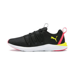 Thumbnail 1 of Prowl Alt Neon Women's Training Shoes, Puma Black-Yellow Alert, medium