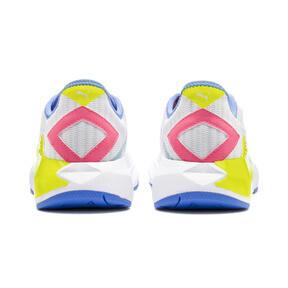 Thumbnail 4 of CELL Plasmic Women's Training Shoes, White-YellowAlert-Milky Blue, medium