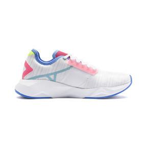 Thumbnail 6 of CELL Plasmic Women's Training Shoes, White-YellowAlert-Milky Blue, medium